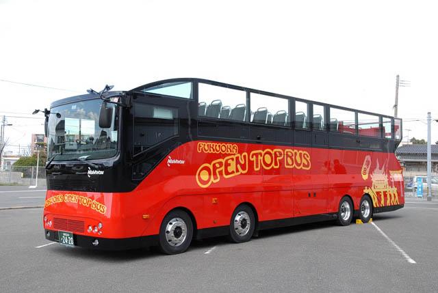 福岡オープントップバス「福岡空港内を走行する新ツアー」イベント運行へ