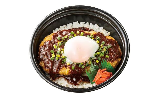 月見ねぎ味噌かつ丼 通常価格590円 → 特別価格490円