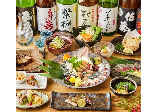 活魚をはじめ鮮度抜群の海鮮料理が自慢「博多海鮮 和たつ美」筑紫口に10月19日オープン