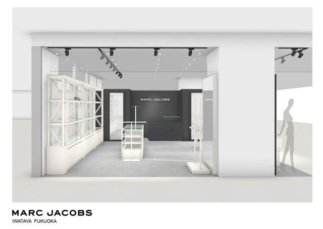マーク ジェイコブス 岩田屋本店が移設・リニューアルオープン、フルアイテムが揃う最新コンセプトストア誕生