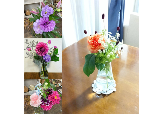 福岡市南区の花屋さん「アンズガーデン」でサブスク『おうち花時間』スタート