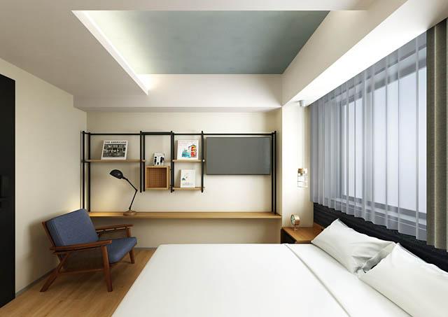 本の世界を旅する「ランプライトブックスホテル福岡」今冬オープンへ